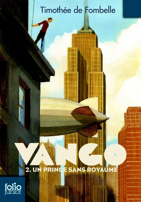 Couverture Vango, tome 2 : Un prince sans royaume