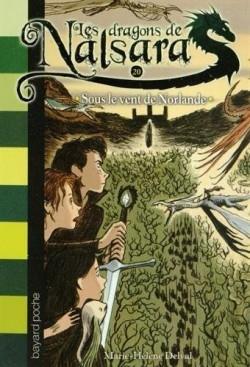 Couverture Les dragons de Nalsara, tome 20 : Sous le vent de Norlande