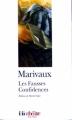 Couverture Les fausses confidences Editions Folio  (Théâtre) 2003