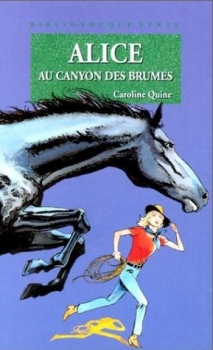 Couverture Alice au canyon des brumes