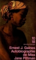 Couverture Autobiographie de miss Jane Pittman Editions 10/18 (Domaine étranger) 1995