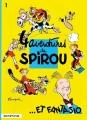 Couverture Spirou et Fantasio, tome 01 : Quatre aventures de Spirou... et Fantasio Editions Dupuis 1986