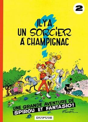 Couverture Spirou et Fantasio, tome 02 : Il y a un sorcier à Champignac