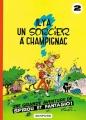 Couverture Spirou et Fantasio, tome 02 : Il y a un sorcier à Champignac Editions Dupuis 1986