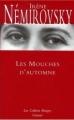Couverture Les mouches d'automne Editions Grasset (Les Cahiers Rouges) 2005