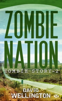 Couverture Zombie Story, tome 2 : Zombie Nation