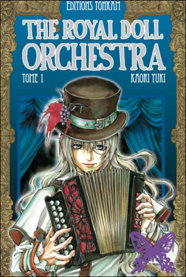 Couverture The Royal Doll Orchestra, tome 01