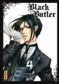 Couverture Black Butler, tome 04 Editions Kana (Dark) 2010