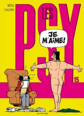 Couverture Les Psy, tome 15 : Je m'aime