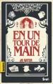 Couverture En un tour de main Editions Seuil (Karactère(s)) 2010