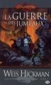 Couverture Dragonlance : Légendes de Dragonlance, tome 2 : La Guerre des Jumeaux Editions Milady 2009