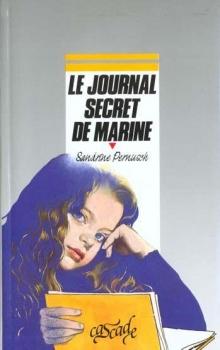 Couverture Le journal secret de Marine