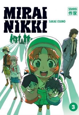 Couverture Mirai Nikki, tome 03