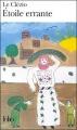 Couverture Etoile errante Editions Folio  1994