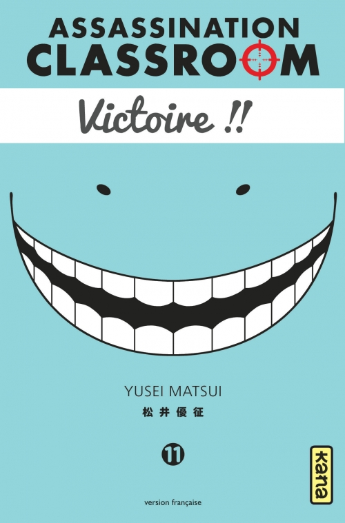 Couverture Assassination classroom, tome 11