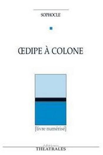 Couverture Oedipe à Colone
