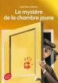 Couverture Le mystère de la chambre jaune Editions Le Livre de Poche (Jeunesse) 2002