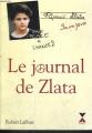 Couverture Le Journal de Zlata Editions Robert Laffont 1993