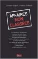 Couverture Affaires non classées Editions First 2003