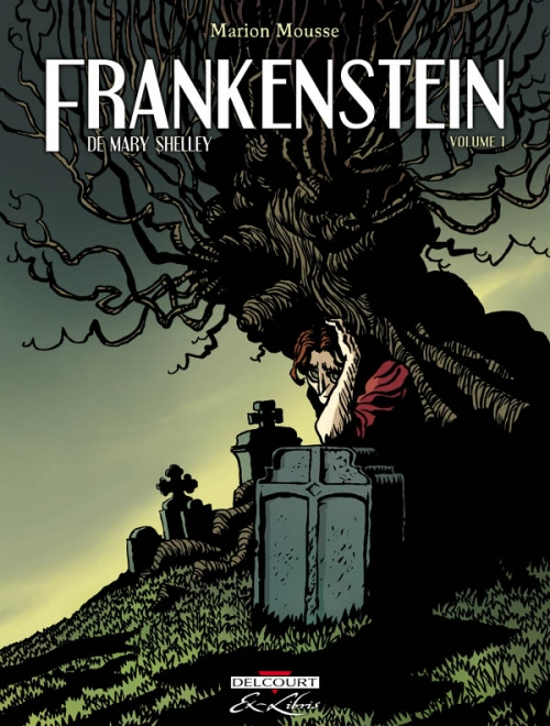Couverture Frankenstein, tome 1