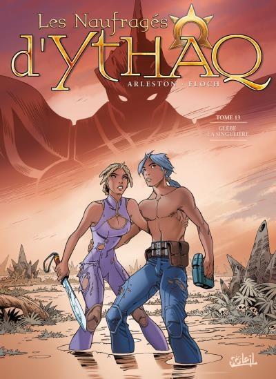 Couverture Les naufragés d'Ythaq, tome 13 : Glèbre la singulière