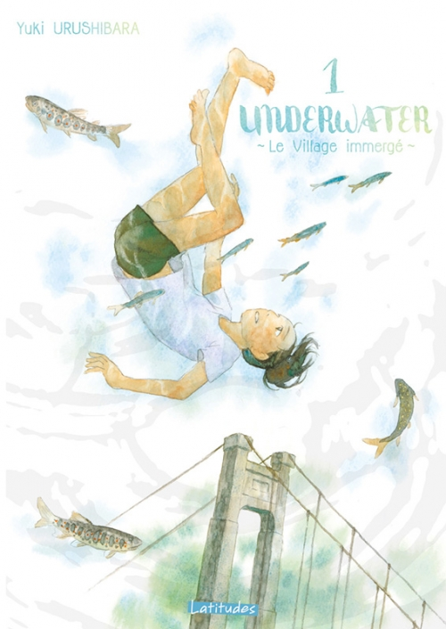 Couverture Underwater : Le village immergé, tome 1