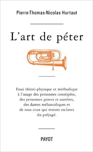 Couverture L'art de péter