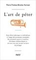 Couverture L'art de péter Editions Payot 2006