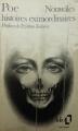 Couverture Nouvelles histoires extraordinaires Editions Folio  1979