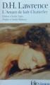 Couverture L'amant de lady Chatterley Editions Folio  (Classique) 2000