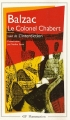 Couverture Le colonel Chabert Editions Flammarion (GF) 1992
