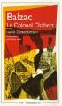 Couverture Le colonel Chabert Editions Flammarion (GF) 1992