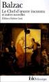 Couverture Le chef-d'oeuvre inconnu Editions Folio  (Classique) 1994