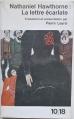 Couverture La lettre écarlate Editions 10/18 1963
