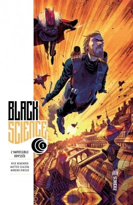 Couverture Black Science, tome 3 : L'impossible Odyssée