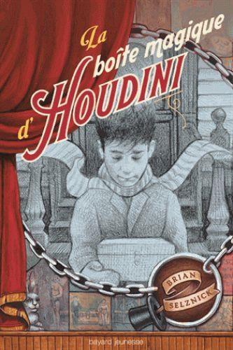 Couverture La boîte magique d'Houdini