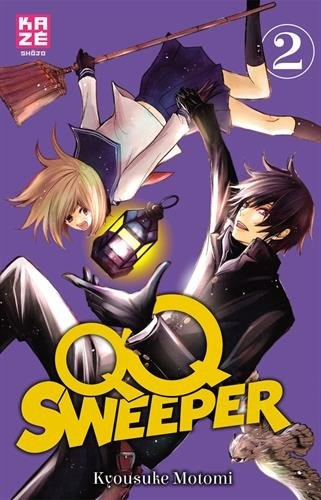 Couverture QQ Sweeper, tome 2