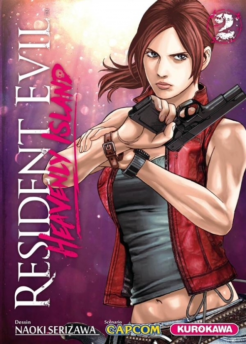 Couverture Resident Evil : Heavenly Island, tome 2