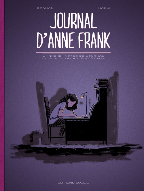 Couverture Journal d'Anne Frank
