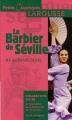 Couverture Le barbier de Séville Editions Larousse (Petits classiques) 2006