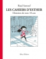 Couverture Les cahiers d'Esther, tome 1 : Histoire de mes 10 ans Editions Allary 2016