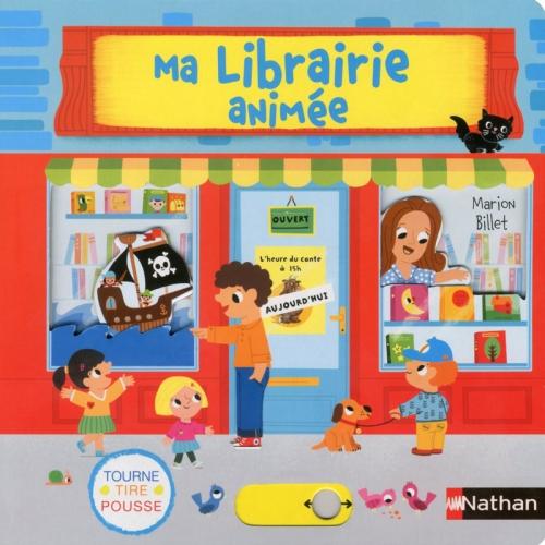 Couverture Ma librairie animée