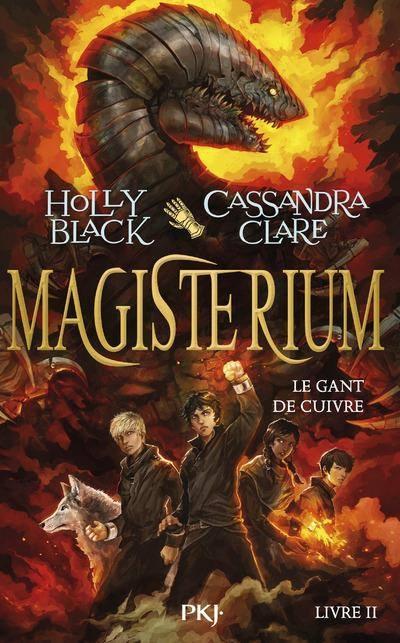 Couverture Magisterium, tome 2 : Le gant de cuivre