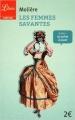 Couverture Les Femmes savantes Editions Librio (Théâtre) 2015