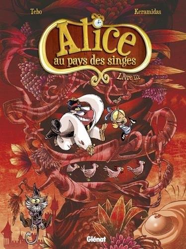 Couverture Alice au pays des singes, tome 3