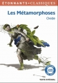 Couverture Les Métamorphoses Editions Flammarion (GF - Etonnants classiques) 2014