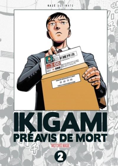 Couverture Ikigami : Préavis de mort, double, tome 2
