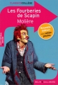 Couverture Les Fourberies de Scapin Editions Belin / Gallimard (Classico - Collège) 2013