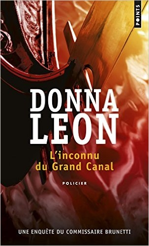 Couverture L'Inconnu du Grand Canal