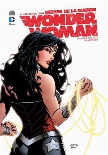 Couverture Wonder Woman : Déesse de la Guerre, tome 1 : Insurrection